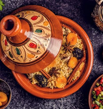 Tajine aux fruits secs